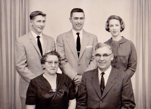 Old Sanders Family Picture