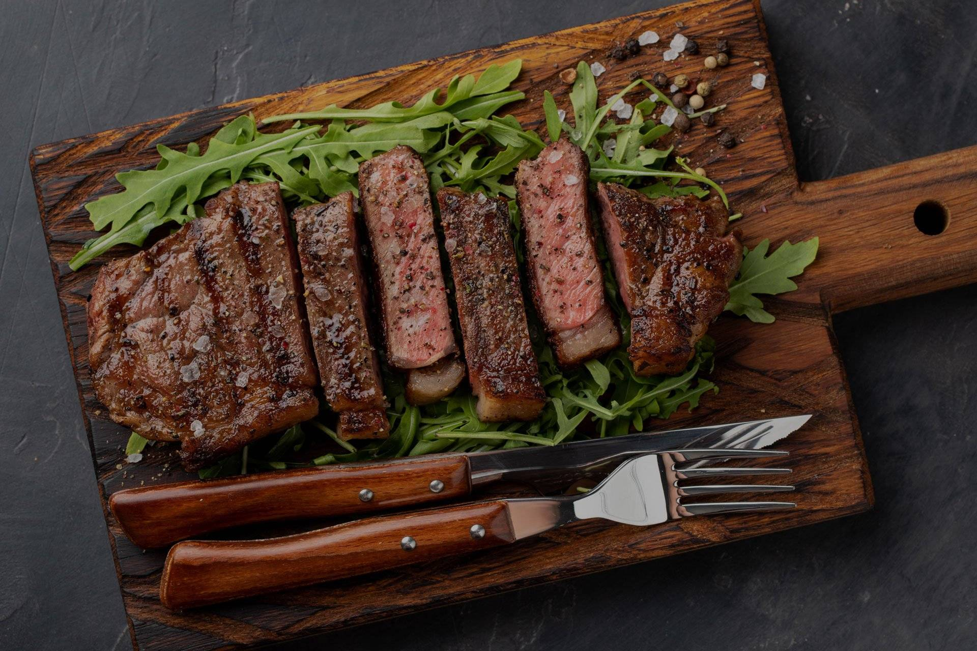 Fresh Never Frozen Beef Steak from Sanders Meats